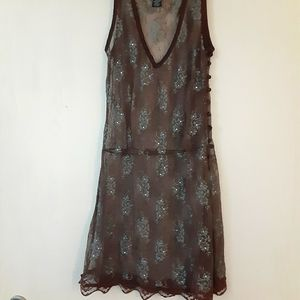 Swimsuit cover up wet seal boho sz M